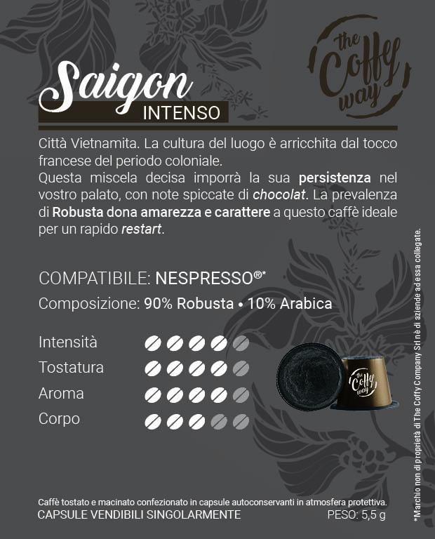 Etichetta nespresso