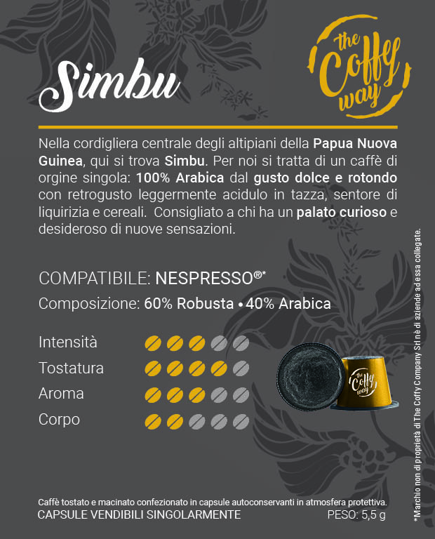 Etichetta nespresso6